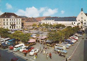 LANDAU / PFALZ, Rathausplatz, Rhineland-Paltinate, Germany, 50-70s