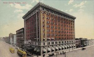 Ohio Toledo Hotel Secor 1909