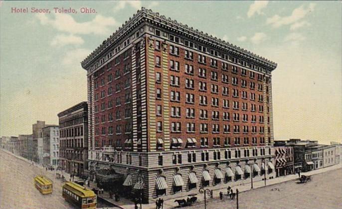 Ohio Toledo Hotel Secor 1909