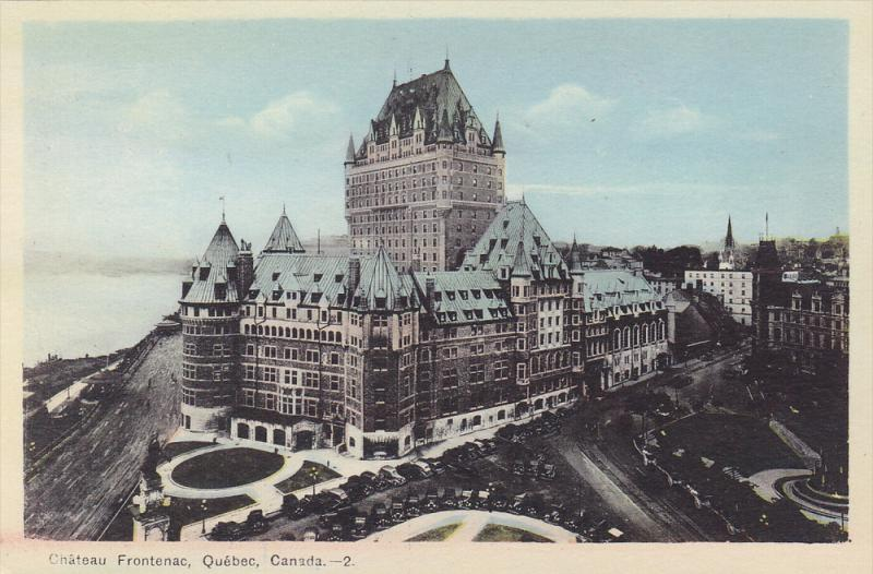Chateau Frontenac, Quebec, Canada, 10-20s