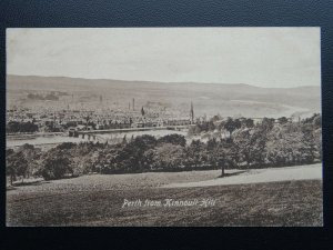 Scotland PERTH From Kinnoull Hill - Old Postcard by Valentine