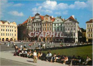 Postcard Modern Praha Prague's Old Town is the Prague center as well as Histo...