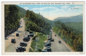 Mohawk Trail, Mass, Up The Mohawk Trail From The Hair Pin Turn