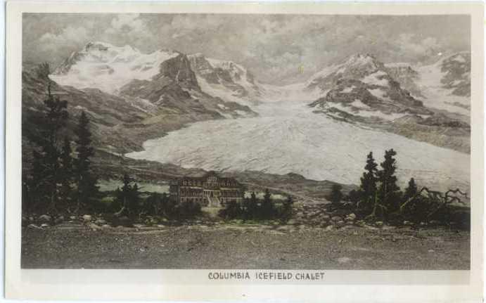 RPPC of Columbia Icefield Chalet, Alberta AB Canada