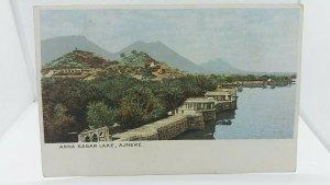 Vintage Postcard Anna Sahar Lake India