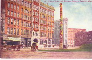 Totem Pole and Pioneer Square