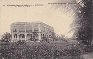DAHOMEY . 1910s , COTONOU.-Le Palais de Justice