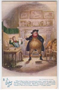 In Dickens Land / Tuck's 6012 / Pickwick Papers