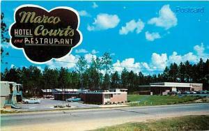 MS, Hattiesburg, Mississippi, Marco Hotel Courts, Dexter Press No. 77714