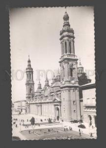 089006 SPAIN Zaragoza Our Lady of Pilar's Temple Old photo PC