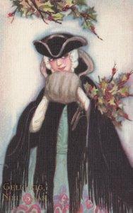 Art Deco ; CORBELLA , Female Fashion Portrait #14 , 1910-20s