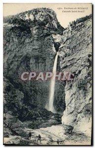 Old Postcard Around Modane Cascade Saint Benoit