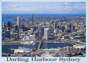 Australia Darling Harbour Sydney Bridge Harbour Panoramic view