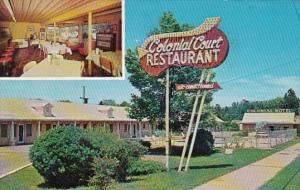 Georgia Perry Colonial Motel and Restaurant 1963