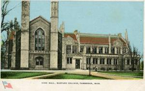 MA - Cambridge, Harvard College - Gore Hall