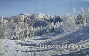 Mt. Lafayette from Cannon Mountain Ski Trail Franconia Notch, White Mountains...