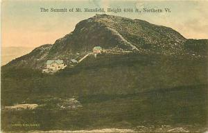 VT, Mount Mansfield, Vermont, Summit, Green Mountain Card Company No. 2386