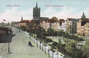 Koln a. Rhein, Partie am Bollwerk, North Rine-Westphalia, Germany, 00-10s