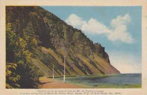 Highway , Gaspe, Quebec, Canada , 1930-50s