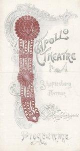 The Girl From Kays Kitty Gordon Musical Apollo Theatre Owen Hall Programme