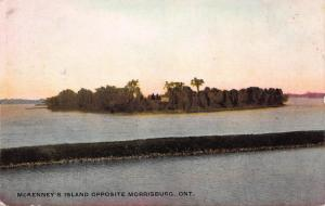 McKenney's Island Opposite Morrisburg, Ontario, Canada, Early Postcard, Unused