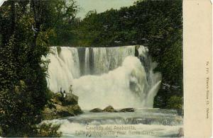 Cascade del Anabanilla Falls of Anabanilla River Cuba 1912