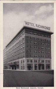 Hotel Richmond, Augusta, Georgia, PU-1949