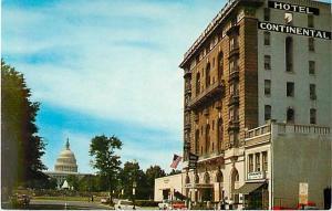 Hotel Continental Washington DC Chrome