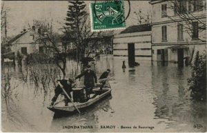 CPA Samois Bateau de Sauvetage FRANCE (1101217)