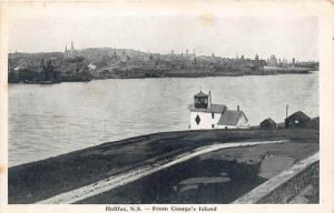 Aerial View of Halifax  from George's Island
