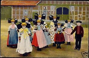 germany, SCHAUMBURG-LIPPE, Volkstrachten 1919 Costumes