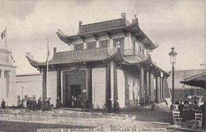 Exposition Universelle Bruxelles 1910 Pavillon de L'Indo-Chine