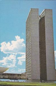 National Congress Building, BRASILIA, Brazil, 50-70's