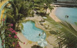 Aerial View Swimming Pool & Kamakahonu Bay, Hotel King Kamehameha, Kailua-Kon...