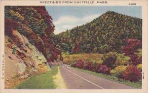 Greetings From Sheffield Massachusetts 1948