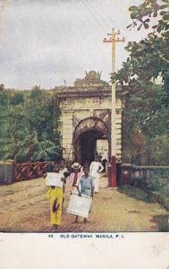 Old Gateway, Manila, Philippines, 1900-1910s