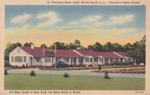 Travelers Motor Hotel, Myrtle Beach, SC, 1949