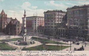 New York Buffalo Latayette Square