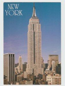 Empire State Building New York USA Postcard