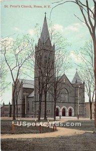 St Peter's Church - Rome, New York