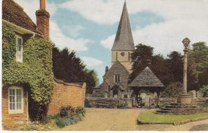 Post Card Surrey Shere Village