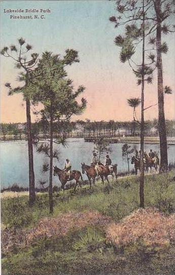 North Carolina Pinehurst Lakeside Bridle Path Albertype