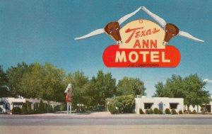 RT 66 ; Texas Ann Motel , ALBUQUERQUE , New Mexico , 50-60s