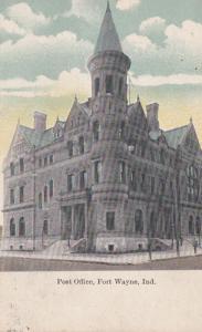 Indiana Fort Wayne Post Office 1910