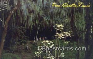 Fern Grotto Kauai HI Unused