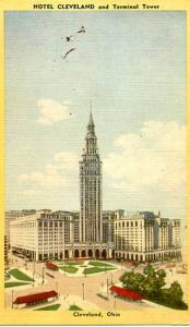 OH - Cleveland. Hotel Cleveland & Terminal Tower
