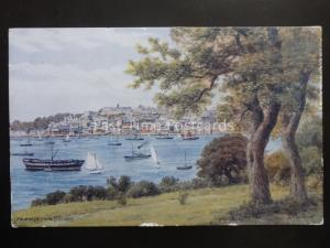 Cornwall FALMOUTH from TREFUSIS - Old Postcard by J. Salmon 2320