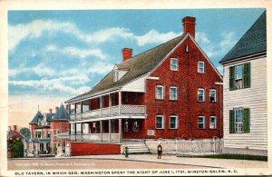 North Carolina Winston Salem Old Tavern Curteich