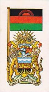 Brooke Bond Tea Vintage Trade Card Flags &amp  Emblkems Of The World No 18 Ma...