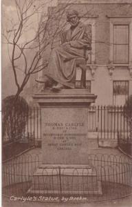 Thomas Carlyle Statue by Boehm